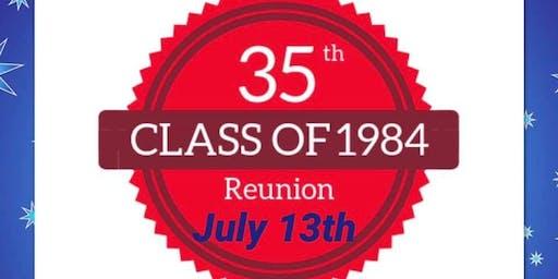 LHS Class of 1984 35th Class Reunion