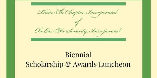 Theta Chi Chapter, Inc. Biennial Scholarship and Awards Luncheon 2019