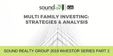 Multi Family Investing: Strategies & Analysis  tickets