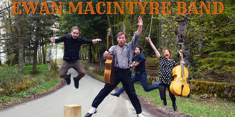 Ewan Macintyre Band Live album show w/ special guests tickets