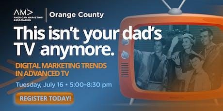 Digital Marketing Trends in Advanced TV tickets