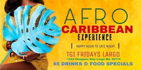 TGI Fridays Happy Hour & Late Night Experience W/ DJ Joe - $5 DRINKS tickets