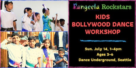 Kids Bollywood Dance Workshop tickets