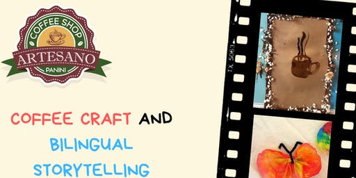 Coffee Crafts and bilingual storytelling