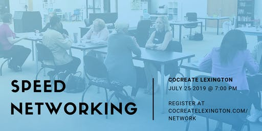 Speed Networking in July