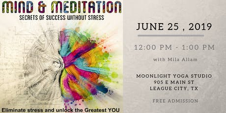 Mind, Meditation - Secret of Success without Stress tickets