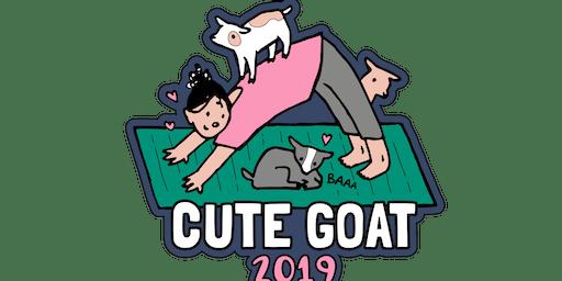 2019 Cute Goat 1 Mile, 5K, 10K, 13.1, 26.2 - Raleigh