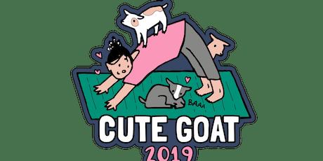 2019 Cute Goat 1 Mile, 5K, 10K, 13.1, 26.2 - Tulsa tickets