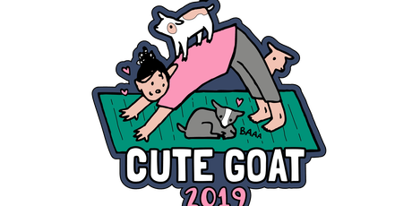 2019 Cute Goat 1 Mile, 5K, 10K, 13.1, 26.2 - Charleston tickets