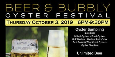 Beer & Bubbly Oyster Festival