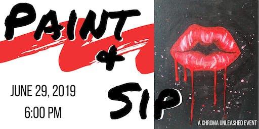 Lips Paint & Sip