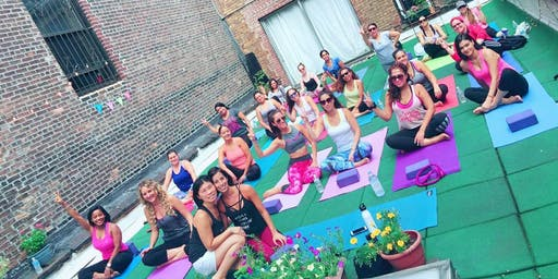 Yoga Wine Party: An Afternoon of Vino and Vinyasa