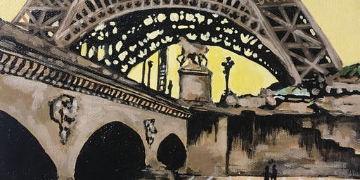 An Evening with the Eiffel Painting Class