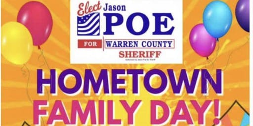Jason Poe for Sheriff presents Hometown Family Day