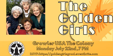 Golden Girls Trivia at Growler USA The Colony tickets