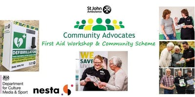 The Colchester Community Group First Aid in the Community Workshop & Advocate Scheme