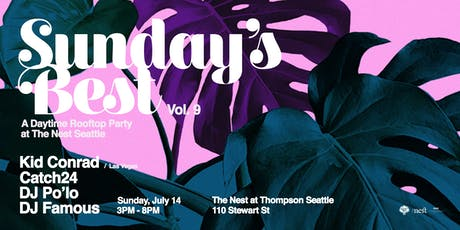 Sunday's Best: Rooftop Day Party at The Nest Vol. 9 tickets