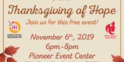 Thanksgiving of Hope
