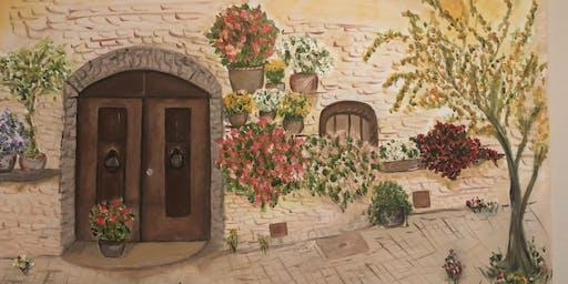 "Pour & Paint ""Tuscany"""