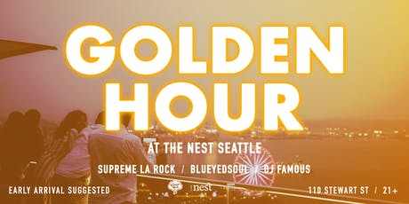 Golden Hour Vol. 2 at The Nest Seattle tickets