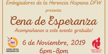 Cena de Esperanza tickets