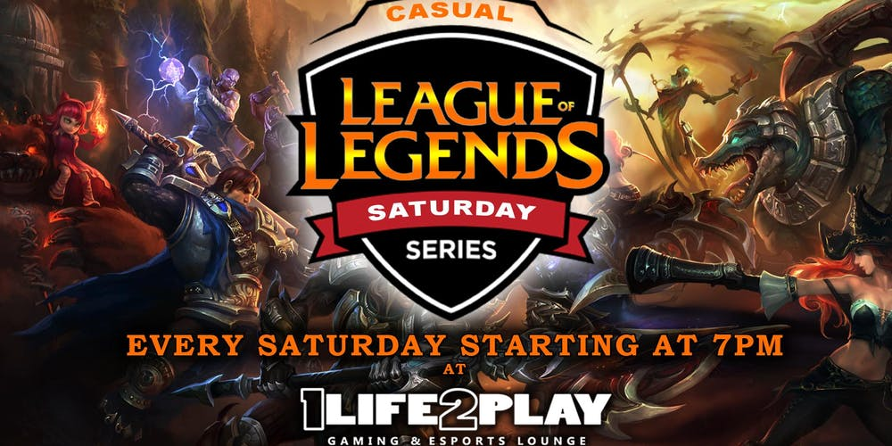 League of Legends Saturday Series Tickets, Multiple Dates