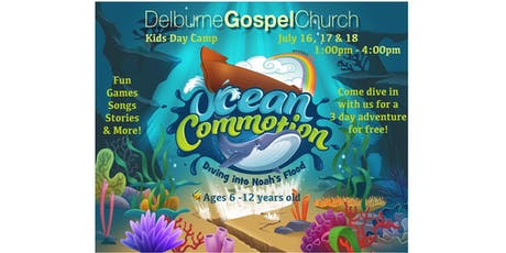 Ocean Commotion Kids Day Camp tickets