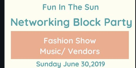 Fun In The Sun Networking Event & Fashion Show  tickets