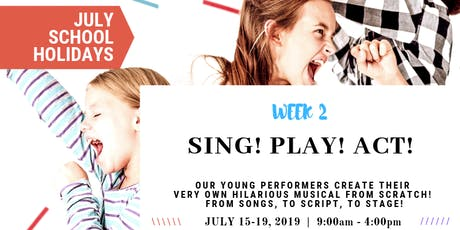 Sing! Play! Act! Create-A-Musical | JULY School Holidays at Sydney Voice tickets