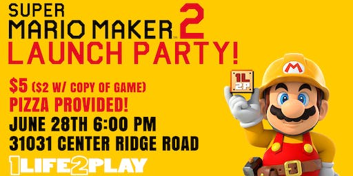 Mario Maker 2 Launch Party