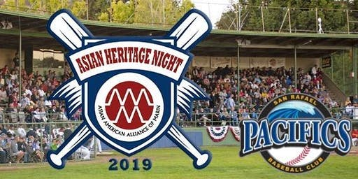 Asian Heritage Night with the Pacifics (sponsored by MCCA)