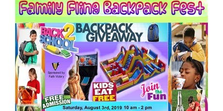 2019 Back-2-School Backpack Fest tickets