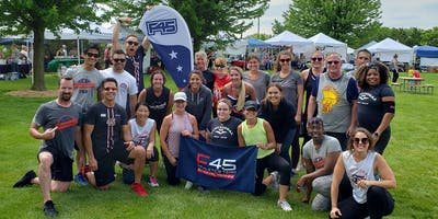 Complimentary Brookfield Farmers Market HIIT Workout sponsored by F45