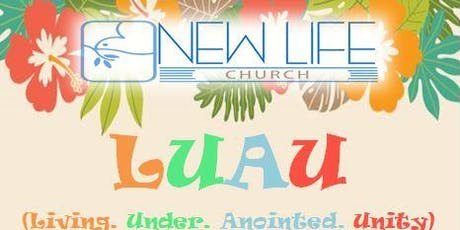 Luau- Living Under Anointed Unity tickets