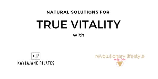 Natural Solutions for True Vitality