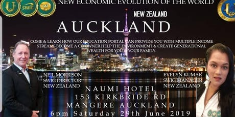 SWIG AUCKLAND ~ New Economic Evolution of the World tickets