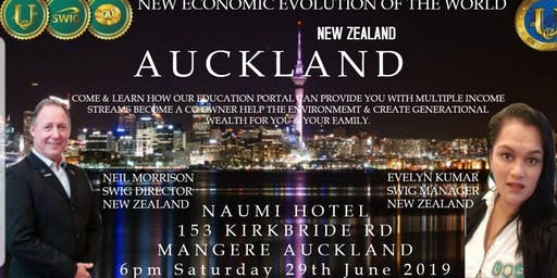 SWIG AUCKLAND ~ New Economic Evolution of the World