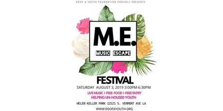 Music Escape Festival tickets