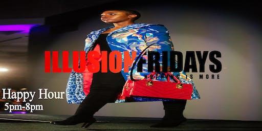 Happy Hour Fridays @ Illusion Lounge
