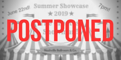 Postponed: Nashville Ballroom & Co. Summer Showcase 2019