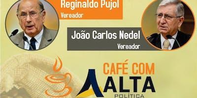 """Café com Alta Política. """" Olhares sobre Porto Alegre""""."""