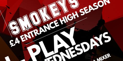 SMOKEYS I-PLAY Wednesdays 26.06.19