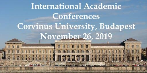 International Academic Conferences Budapest, Hungary November 26, 2019