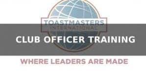 District 38/Toastmasters Leadership Institute (TLI)  Summer Club Officer Training