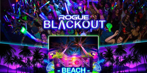 Rogue Blackout NEON BEACH Greensboro Ultimate Glow Experience!