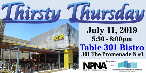 Thirsty Thursday - Downtown LB Residents