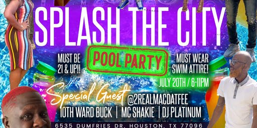 Splash City Pool Party