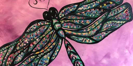 The Dragonfly-Paint night @athensuncorked