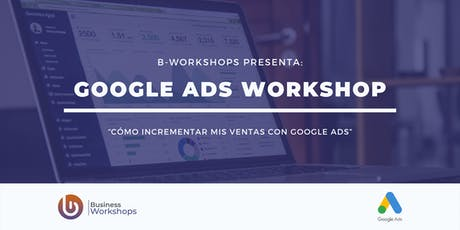 Workshop de Google Ads - Básico tickets
