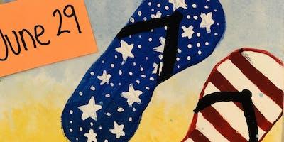 Patriotic Kids Paints Class June 29